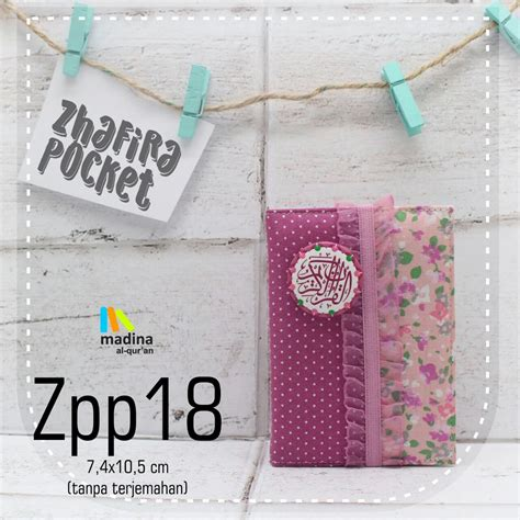 Alquran Cantik Zhafira Pocket Zp13 al quran zhafira pocket jual quran murah