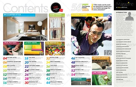 yearbook template indesign magazine template indesign 56 page layout v2 by