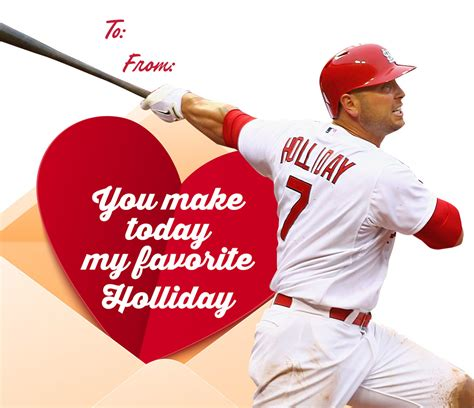 valentines baseball 4 days until s day cards for
