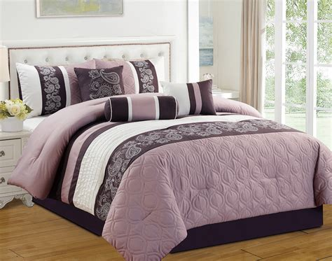 purple bedding king best 28 purple comforter set king j queen palazzo