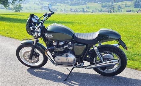Triumph Motorrad Hafner by Motorrad Occasion Kaufen Triumph Thruxton 900 Hafner S