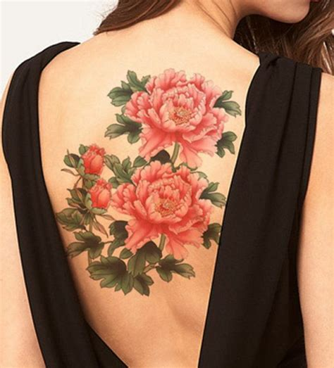 big flower tattoos 1001 ideas for beautiful flower tattoos and their secret