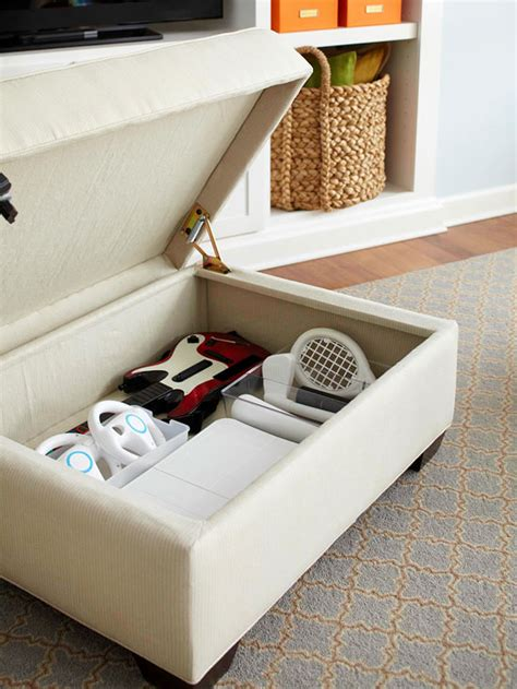 game on storage ottoman small house solutions the inspired room