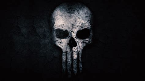 Free Punisher Skull ChromeBook Wallpaper Ready For Download