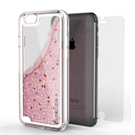 iphone  case punkcase liquid silver series protective