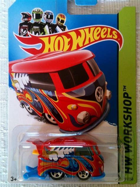 Hotwheels Vw Volkswagen Kool Kombi 2014 Hijau hotwheels volkswagen kool kombi 201 2014 hw workshop