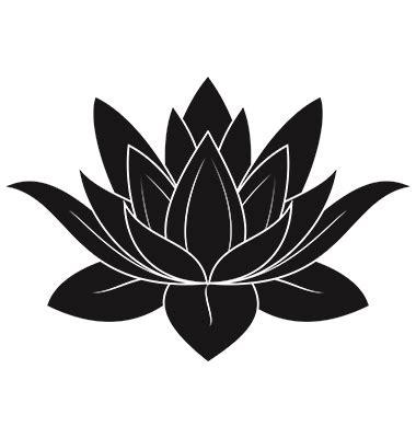 lotus tattoo vector lotus flower on vectorstock mustrid pinterest lotus