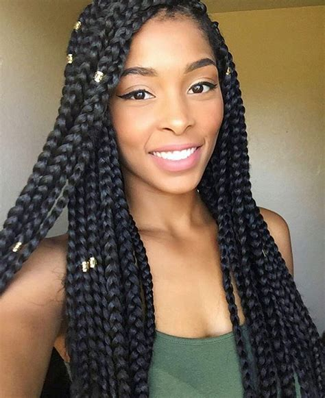 jumbo braids i like the size of these haircation hairspiration love the size of these chunky boxbraids on
