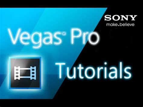 Credit Roll Template Sony Vegas Editing With Sony Vegas Pro Tutorials Free