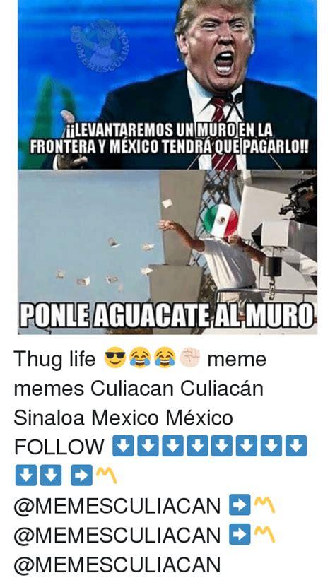 Memes De Mexico - esc liilevantaremos un muro en la frontera ymexico