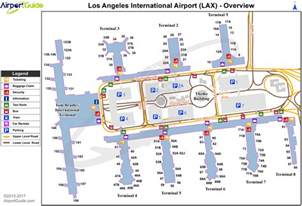 Map Of Los Angeles Airports by Airport Maps Charts Diagrams Los Angeles International