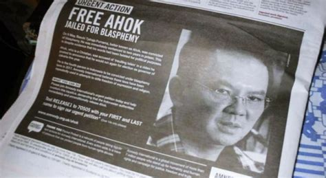 ahok international wow amnesty international pasang iklan bebaskan ahok di