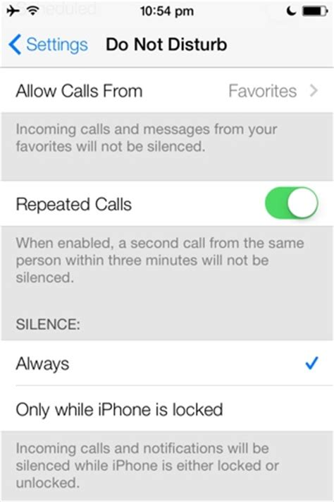 ios  silence calls  notifications  iphone