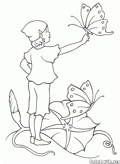 elf fairy coloring pages coloring page elves and fairies