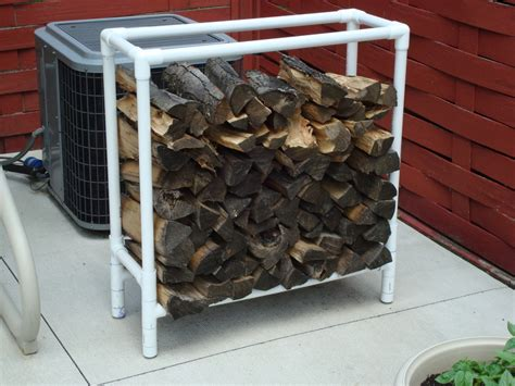 diy firewood rack pipe wooden firewood rack plans pvc pdf plans