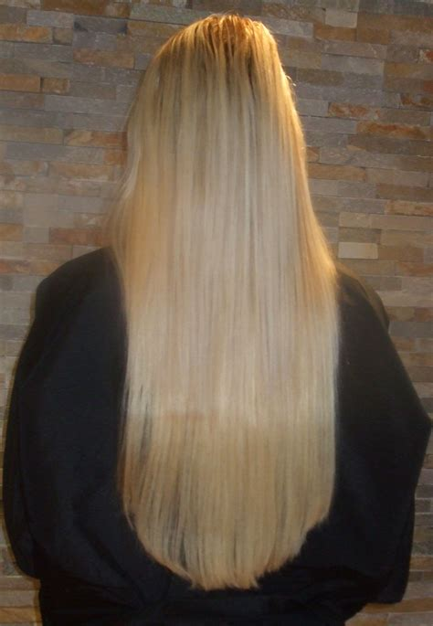 haircut blend extensions hairextensions