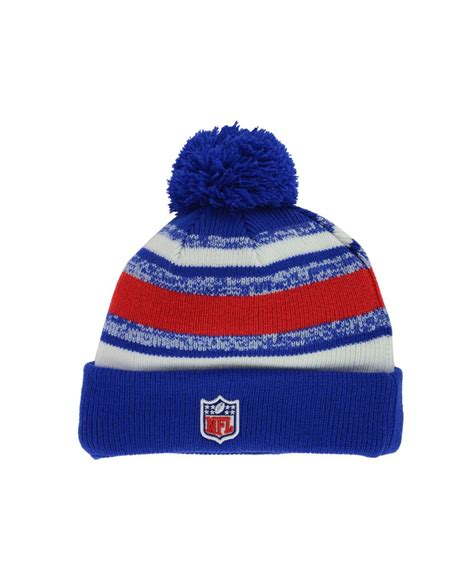buffalo bills knit hat ktz buffalo bills sport knit hat in blue for lyst