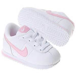 Baby Crib Shoes Nike by Nike Cortez Infant White Pink