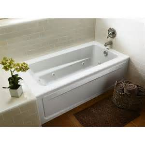 American Standard Walk In Bathtub Jacuzzi Primo White Acrylic Rectangular Whirlpool Tub