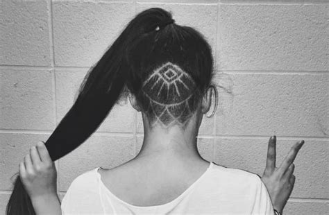hidden ish undercut i am not my hair pinterest hidden hair tattoos are the coolest way to upgrade your