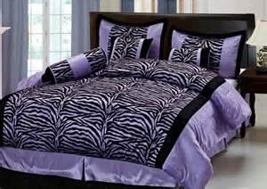 Zebra comforter set accentuate with black zebra comforter or opt