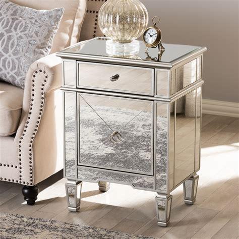 mirrored nightstand home goods style mirrored nightstand home goods new home design