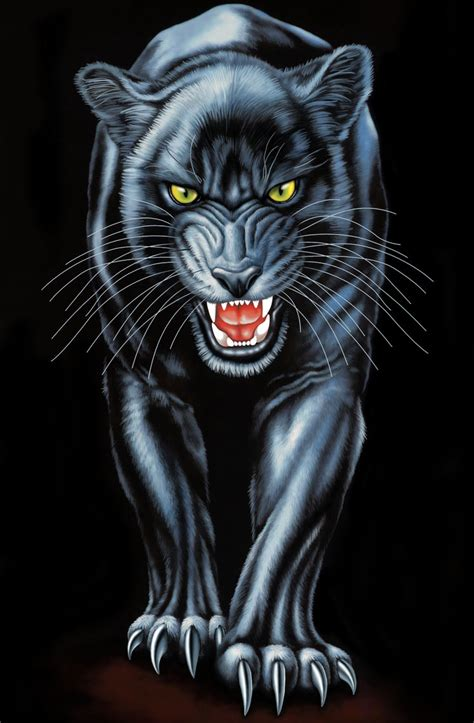 black panther by real warner on deviantart