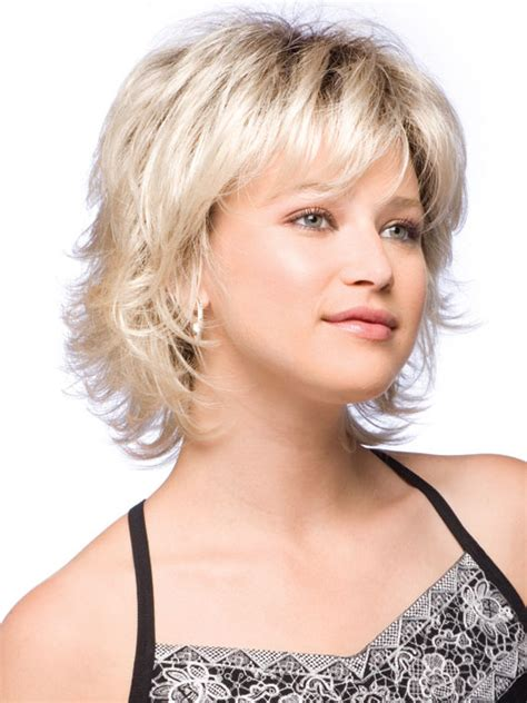 mhaircuta to give an earthy style like a shorter shag the bangs are usually cut to match