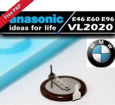 Bmw Key Battery Vl2020 by Panasonic Vl2020 Rechargeable Battery For Bmw Key Fob 3 5