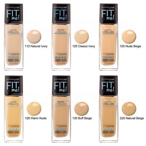 Maybelline Foundation Fit Me Matte Dewysmooth 125 Beigi Original fit me makeup foundation makeup products