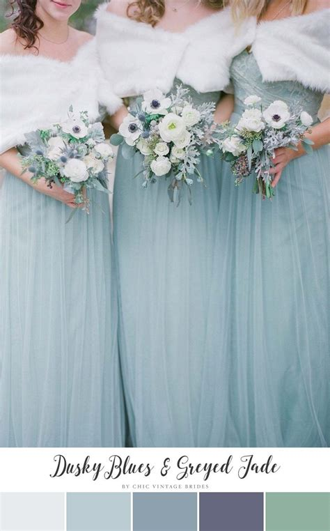 wedding by color 11 beautiful winter wedding colour palettes brides