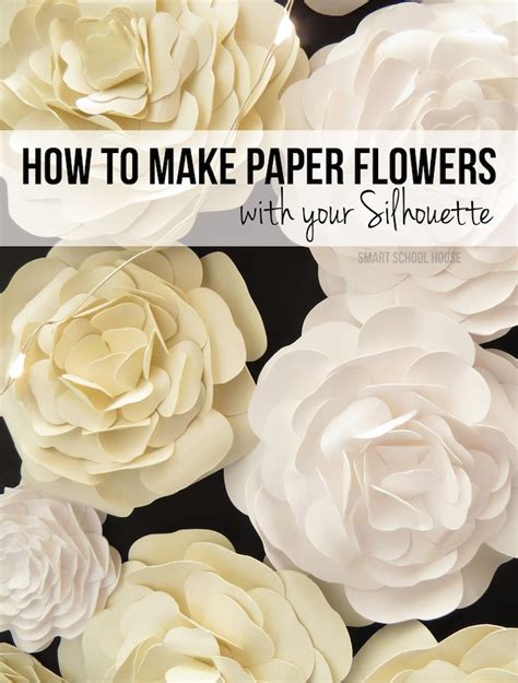 How To Make With Paper Flowers - how to make paper flowers