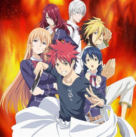 anime season shokugeki no souma season 4 announced for spring 2018