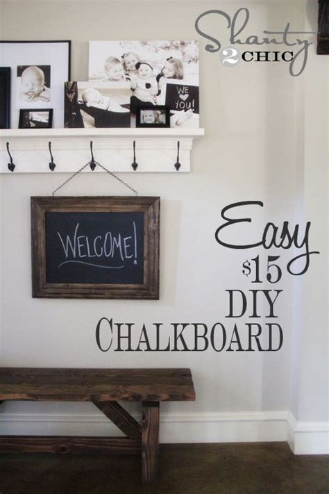 diy chalkboard restoration hardware diy chalkboard and chalkboards on