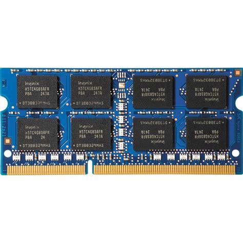 Memory Hp 16gb V hp 16gb heh6y77ut2k ddr3l 1600 1 35v sodimm memory kit b h photo