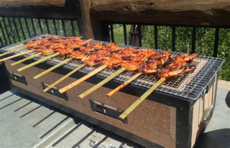 japanese grill on table japanese and american hibachi grills barbecuebible com