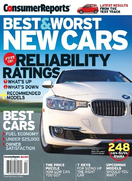 Consumer Reports Car Books by Consumer Reports Best Worst New Cars 2013 Pdf Magazine