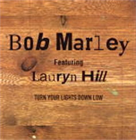 Turn Your Lights Low Bob Marley by Matt S Cd Singles Lauryn Hill