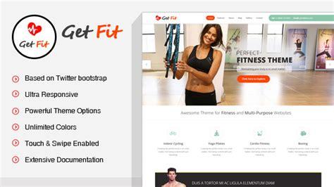 themes wordpress fitness getfit gym fitness multipurpose wordpress theme by