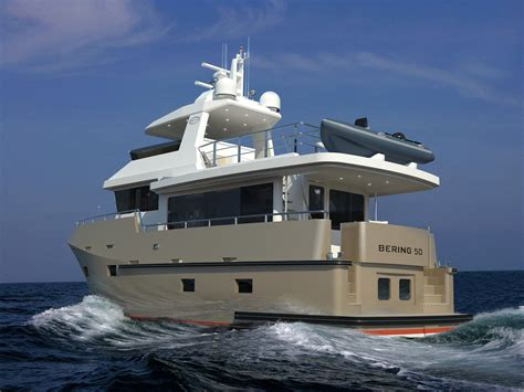 catamaran expedition yacht bering 50 steel trawler yachts expedition yachts