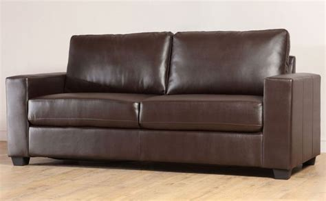 Brown Leather Sofa Cleaner Mission Brown Leather Sofa Clean Lines Interior Design For Brown