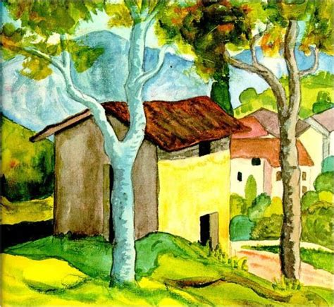 Different Styles Of Houses hermann hesse landscape watercolors art kaleidoscope