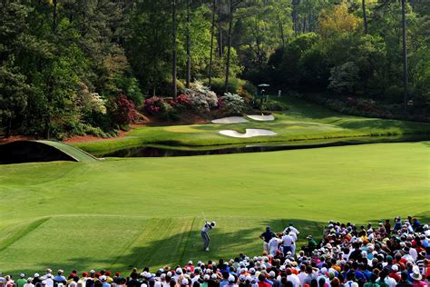 Three Second Gc disaster awaits at augusta national s par 3 12th in the of masters 2017 golf