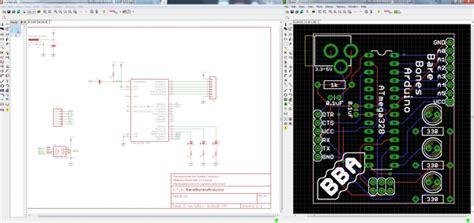 layout versus schematic tutorial using eagle schematic learn sparkfun com