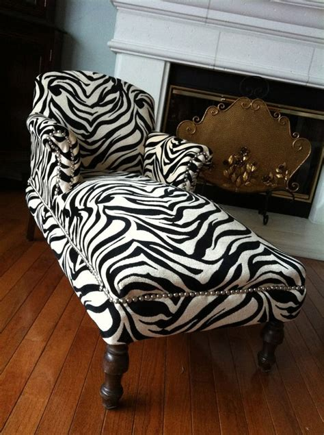 zebra chaise lounge 17 best images about animal print on garden