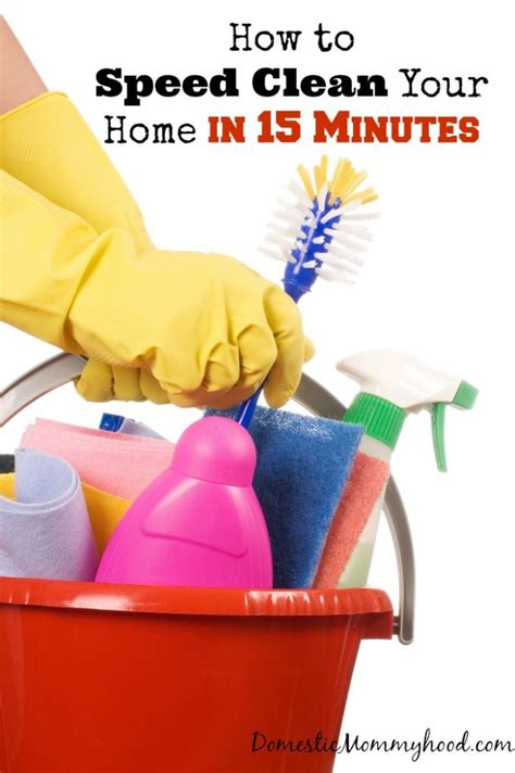 how to clean your house in twenty minutes reality source how to clean your home in 15 minutes domestic mommyhood