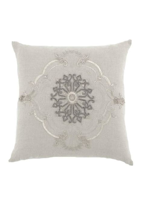 Embroidered Pillows by Callisto Home Linen Embroidered Pillow From By
