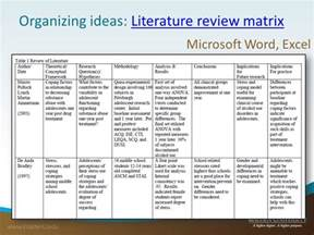 Template For Writing A Literature Review by Lit Review Template Bestsellerbookdb