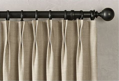 ideas for hang curtains with hooks the homy design