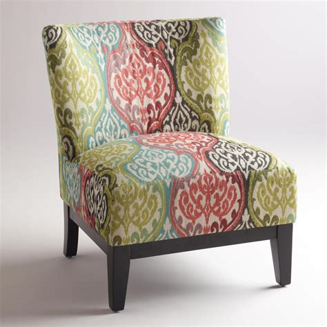 ikat armchair multicolored ikat rio darby chair world market